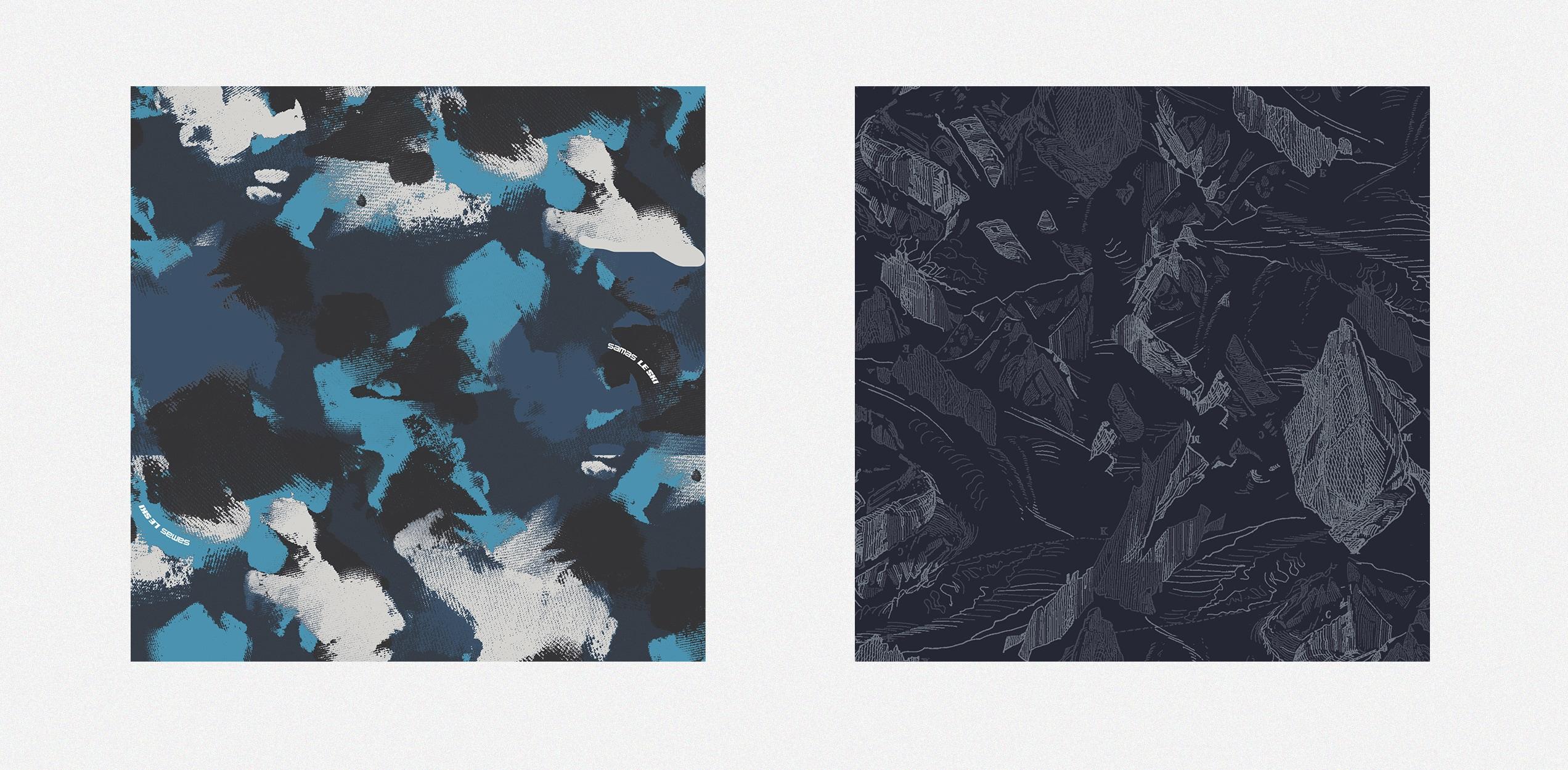 Andrea Busnelli Fashion Graphic Designer samas pattern AOP